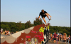Blunt Nosegrab to fakie beim Bowl Skateboard Contest in Oschatz - 07.06.2013