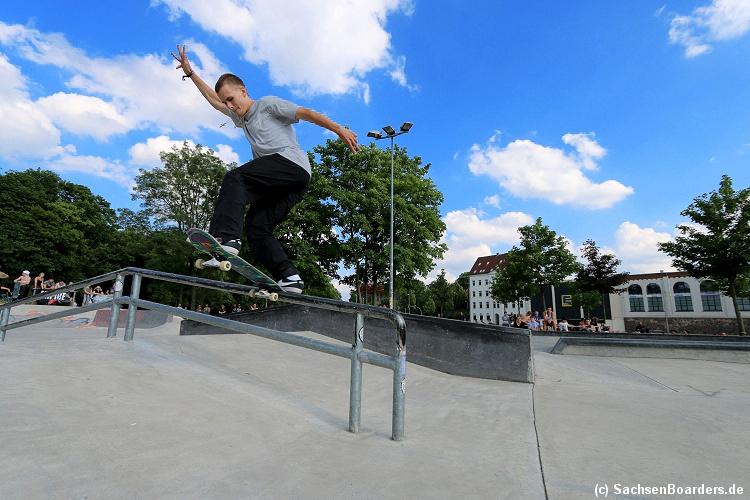 TITUS Locals Only Competition Offizielle Deutsche Skateboardmeisterschaftsserie der Amateure 16.06.2019 Chemnitz