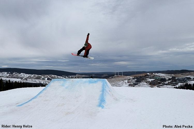 COOL Funpark Klínovec Snowpark Keilberg Henry Holze Kicker FS 540 Mute