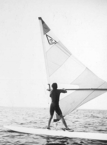Windsurfen Plauer See 1987 DDR Surf Ostermann Windglider