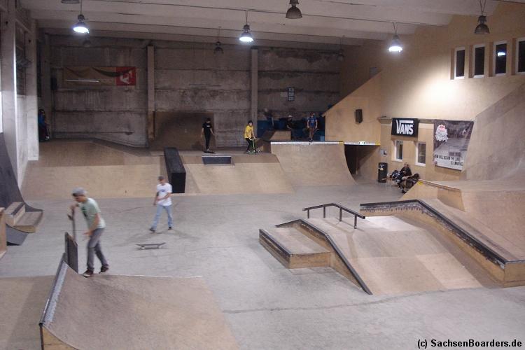 Skatehalle Heizhaus Leipzig