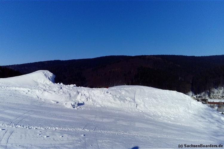 Skigebiet Holzhau / Ost-Erzgebirge